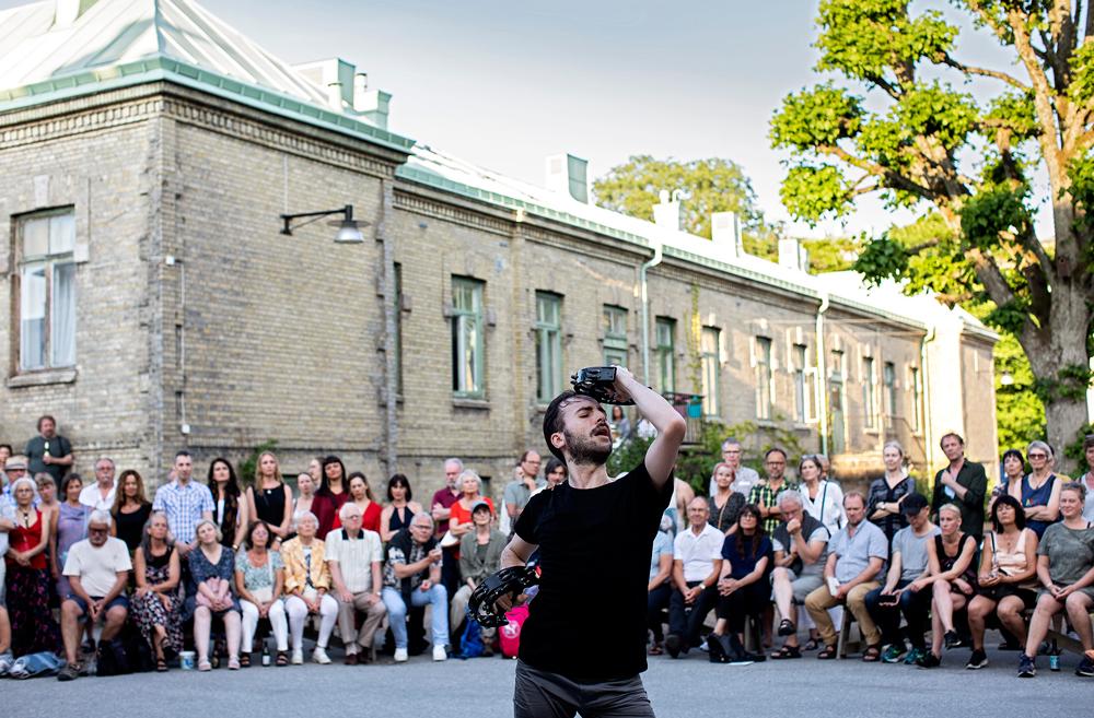 Flamencokonstnären Marco Flores briljerade med enmansförställningen EXTRACTO ABIERTO. Foto Johan Wingborg